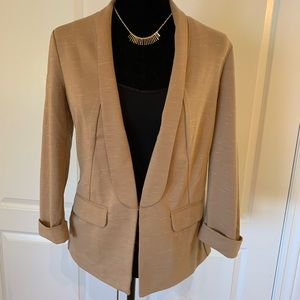 Knit fitted blazer